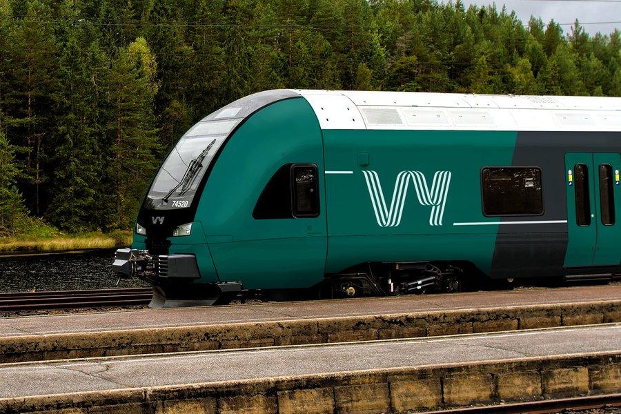 Stasjoner Og Linjekart Tog Og Buss Til Flyplassen Vy No